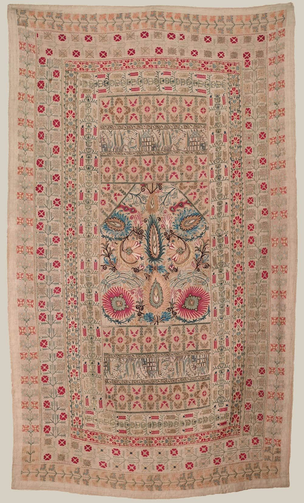 19th CENTURY GREEK EMBROIDERY FROM EPIRUS - Yorke Antique Textiles ...