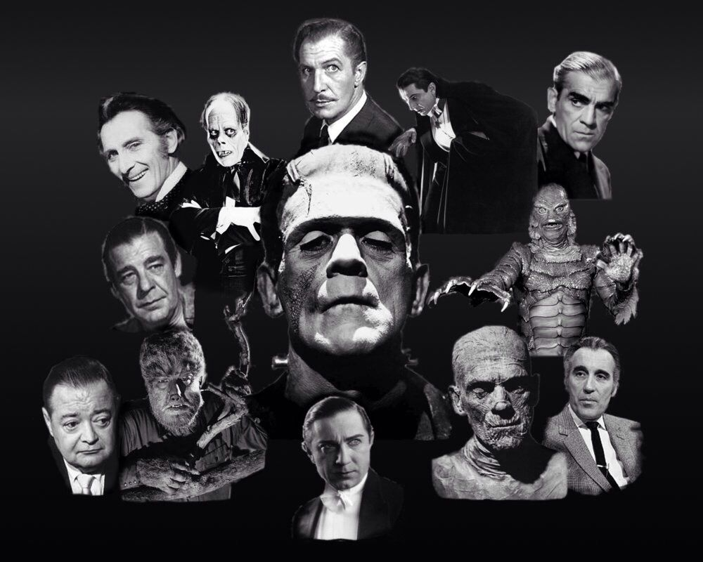 Old horror characters horror movie characters