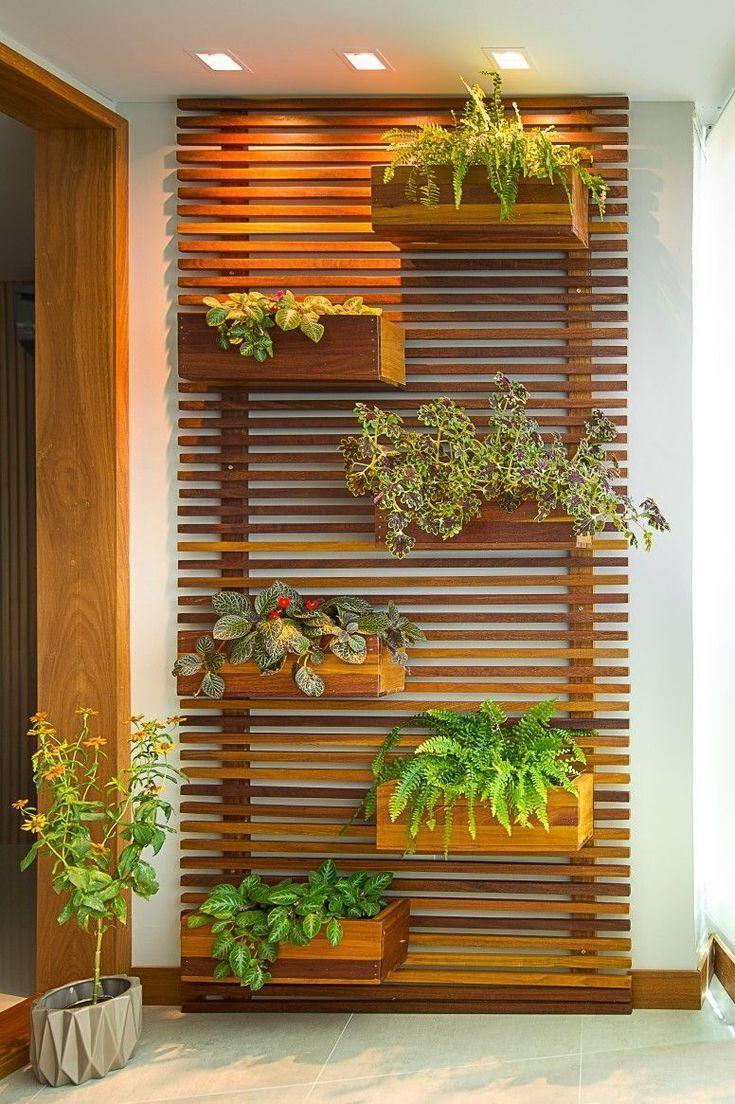 Obwohl die vertikalen Gärten nicht auf kleine Räume beschränkt sind eignen si…