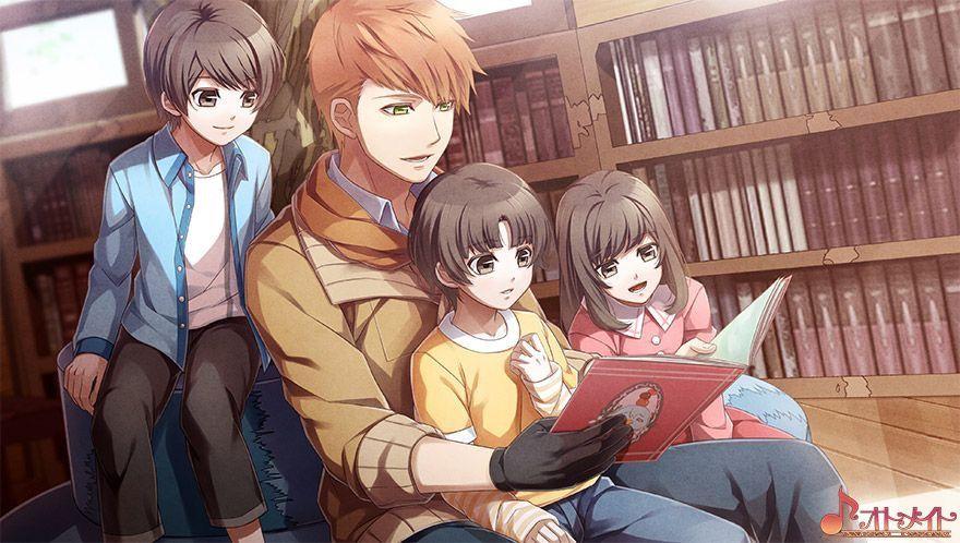 Masamune With Adorable Children Dibujos Anime