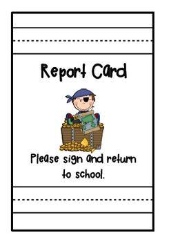 report card envelope covers classroom theme pinterest envelope