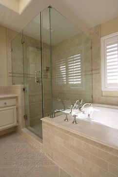 Neutral Retreat La Jolla  Traditional  Bathroom  San Diego Brilliant San Diego Bathroom Design Decorating Inspiration