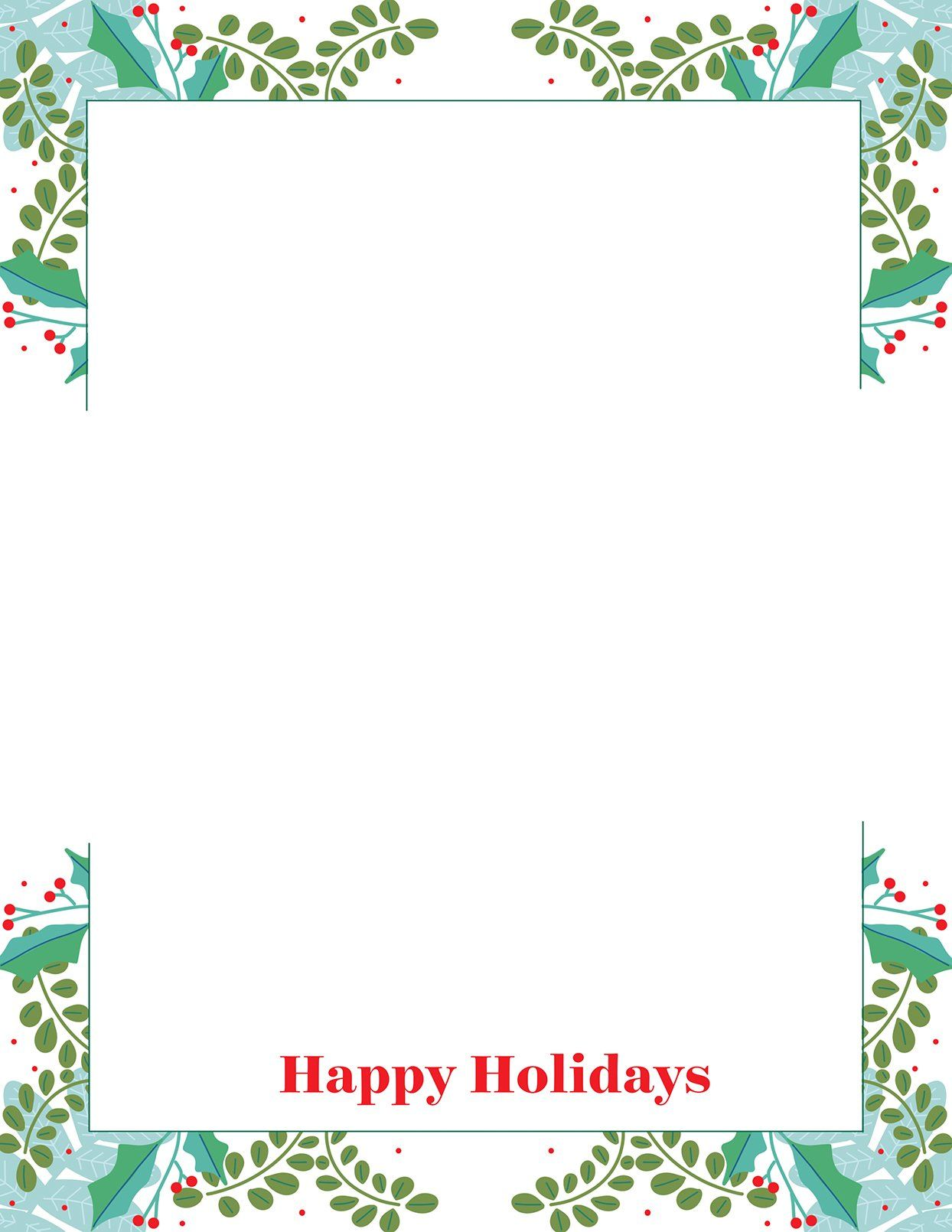 33 Free Templates to Help You Send Holiday Cheer