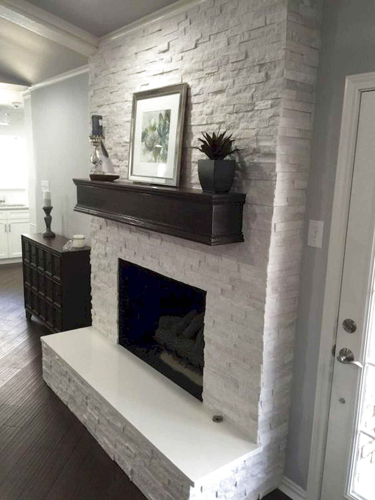 47 Best Farmhouse Fireplace Decor Ideas And Remodel Brick