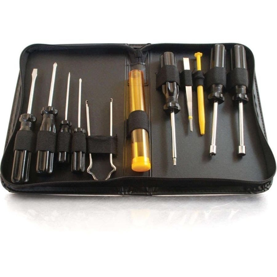Cables To Go C2G 11-Piece Computer Tool Kit, #04590