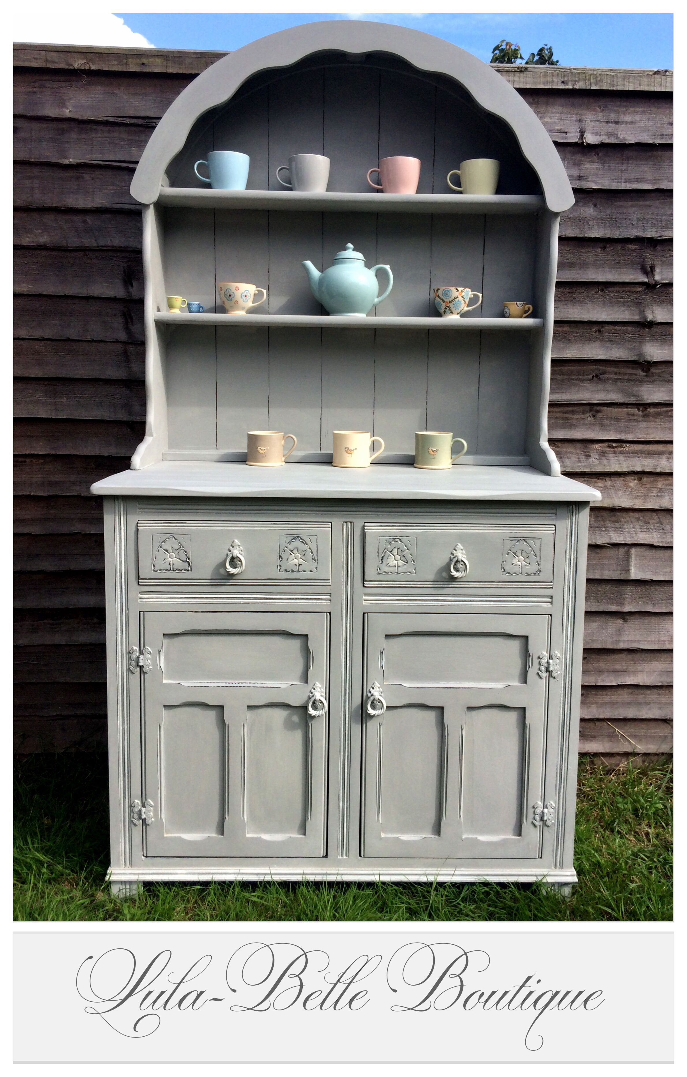 hand painted vintage dutch dresser in annie sloan paris. Black Bedroom Furniture Sets. Home Design Ideas