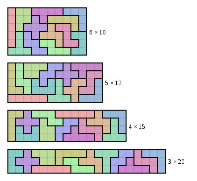 picture relating to Pentominoes Printable known as pentominoes printable worksheets Pentomino - Wikipedia