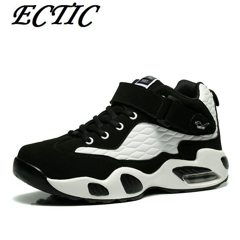 High top basketball shoes men Boots breathable non slip
