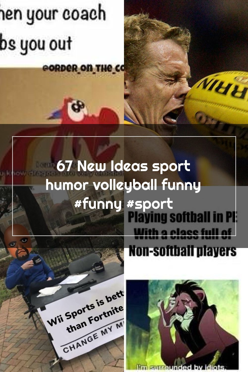 67 New Ideas Sport Humor Volleyball Funny Funny Sport In 2020 Volleyball Humor Sports Humor Funny Sports Pictures