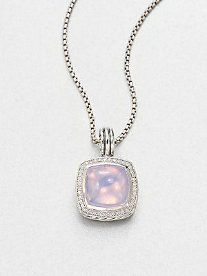 Lavender Moon Quartz : lavender, quartz, Purple, Passion, David, Yurman, Lavender, Quartz,, Diamonds, Sterling, Silver, Enhancer, #davidyurman, Girly, Jewelry,, Jewelry, Fabulous