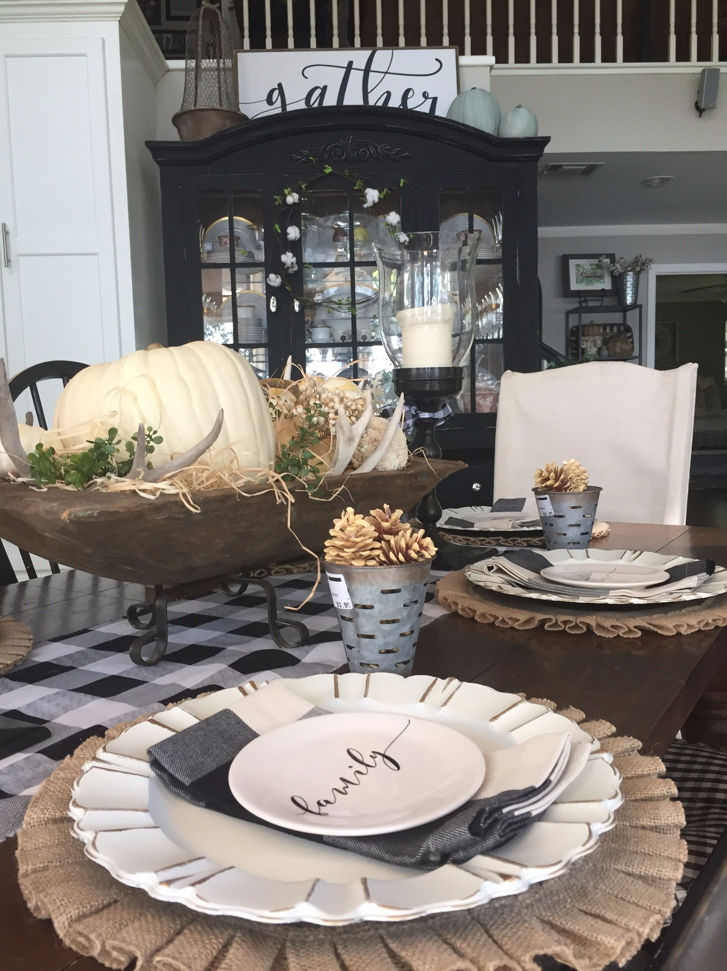 HOW TO MAKE A SHOW STOPPER TABLESCAPE Diy dining room