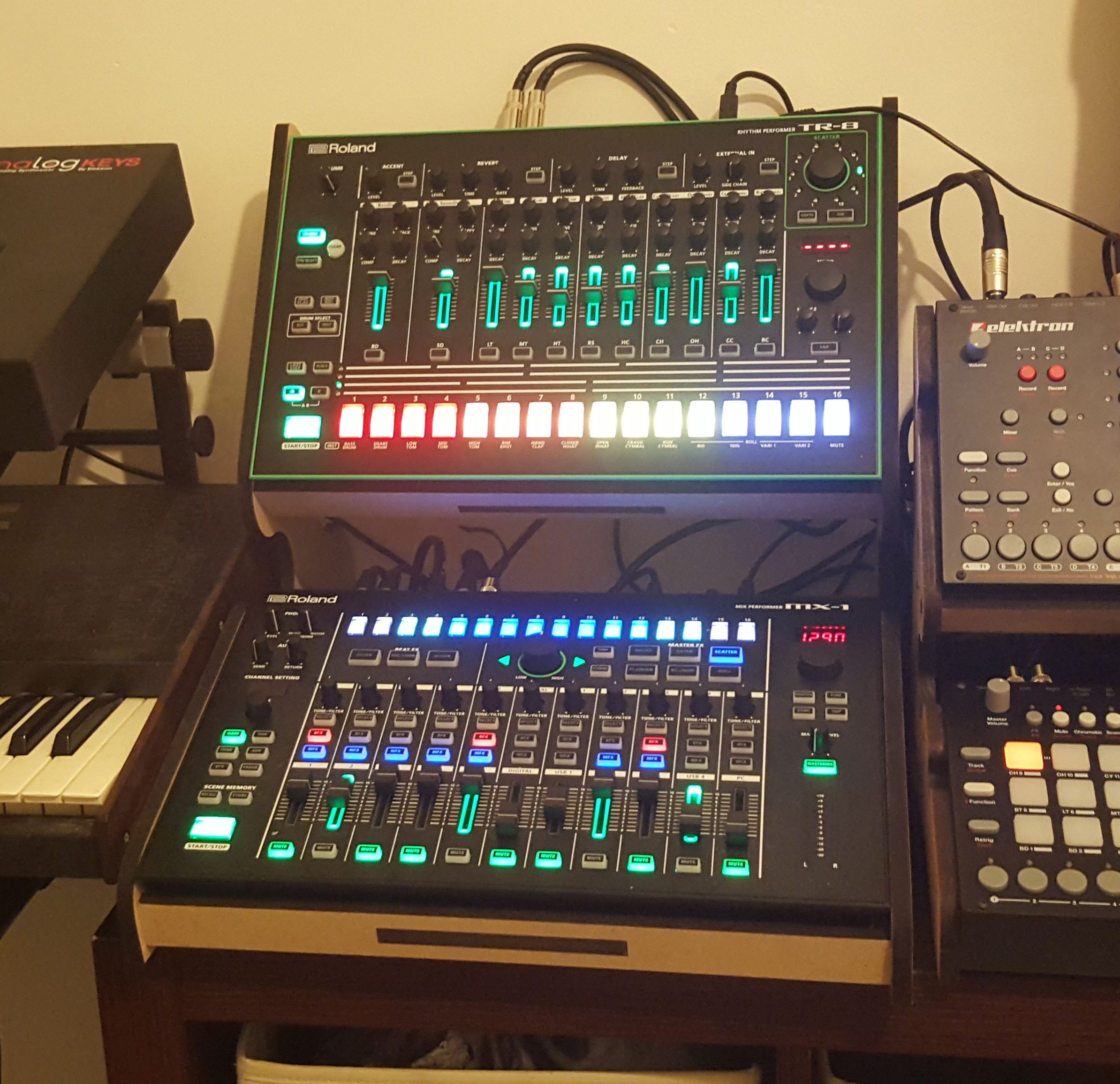 Roland Intros Aira Mx 1 Mix Performer The Nerve Center: Pin By Tucker Harper On DAW-less