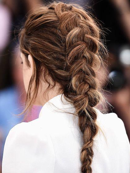 Messy Hair Styles Inspirationen Zum Schnelldurchklicken Geflochtene Frisuren Hollandischer Zopf Flechtfrisuren