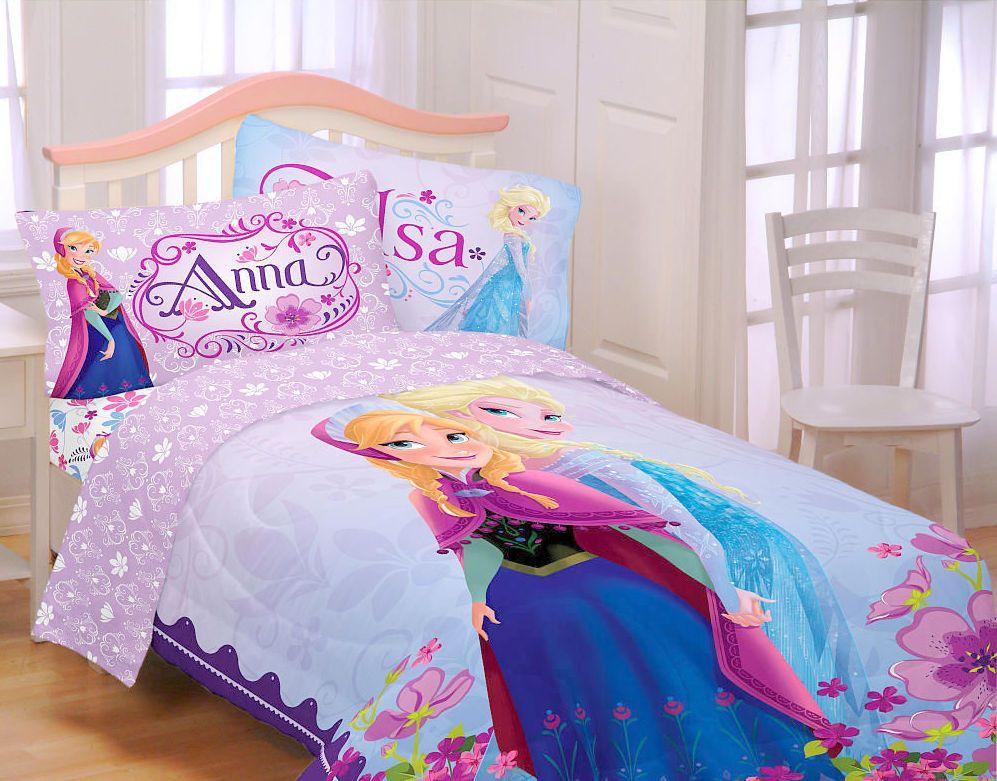 Disney Frozen Elsa Anna Celebrate Love Comforter Bedding