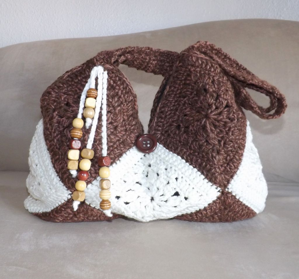 Crochet granny squares bags   BOLSAS GRANNYS   Pinterest   Bolsos ...