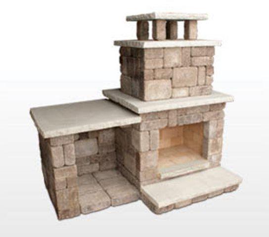 Menards Outdoor Fireplace Kits - Fireplace Design Ideas