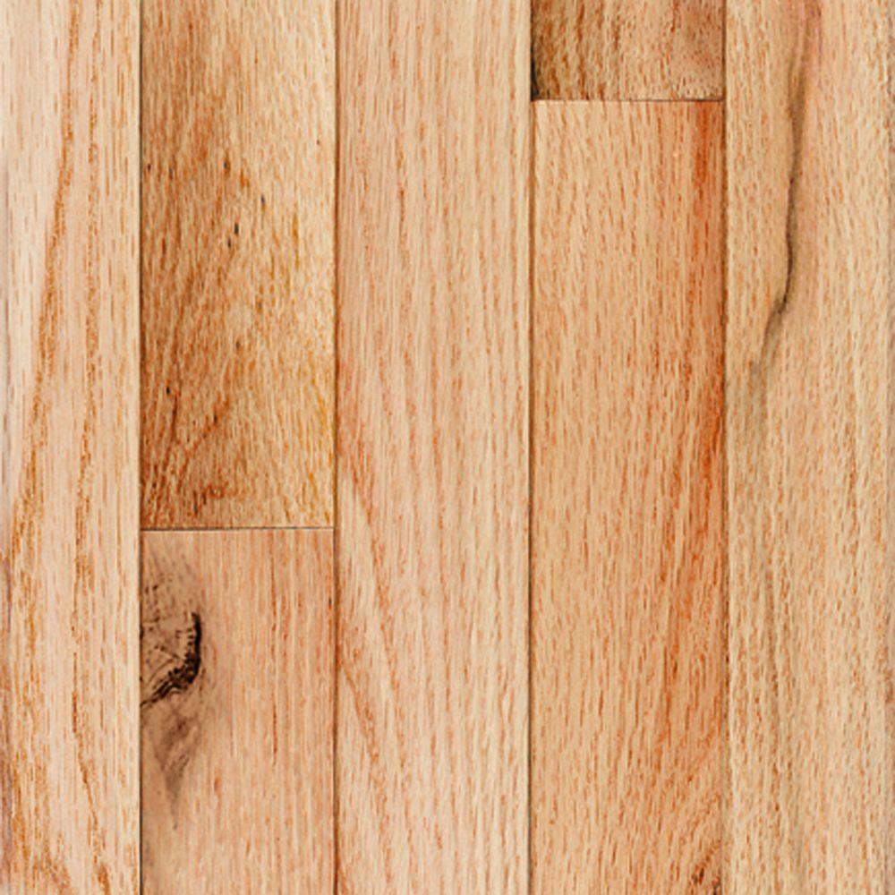 Millstead Red Oak Natural 3 4 In Thick X 3 1 4 In Wide X Random