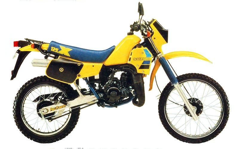 Suzuki Ts125 Not Bad At All A Little Rough And Ragged Compared