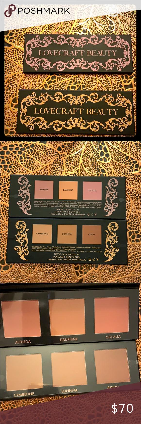 LOVECRAFT BEAUTY blusher/ bronzer duo Blusher/Bronzer duo