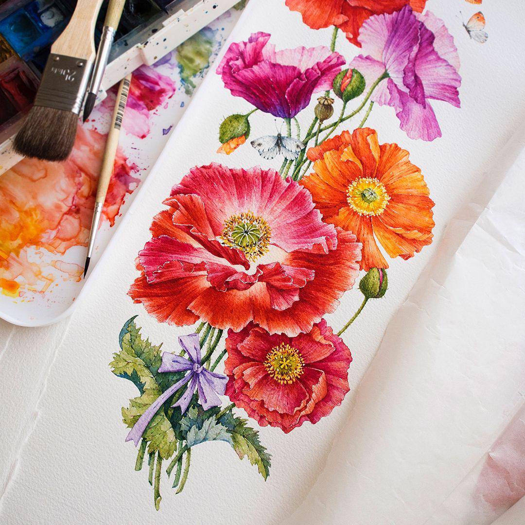 Ekaterina Mikheeva (@ekaterina__mikheeva) в Instagram #flowers #art #watercolor #painting #paint #Купить #Картина #pink #watercolour #draw #drawing #flower #flowers #цветы #watercolor #watercolour #aquarelle #waterblog #worldofartists #drawing #painting #art #artist #artshelp #artgallery #artweinspire #topcreator #inspiringwatercolors #inspiration #flowers #botanical #botanicalart #illustration #акварель #вдохновение #иллюстрация #pink