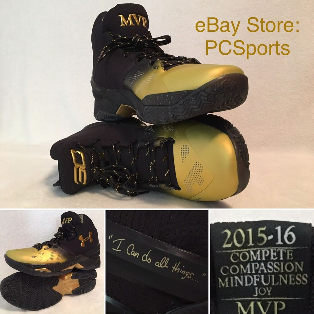 5434ab3723d Men s Limited Edition UA SC Stephen Curry MVP B2B Basketball Shoes  Collection