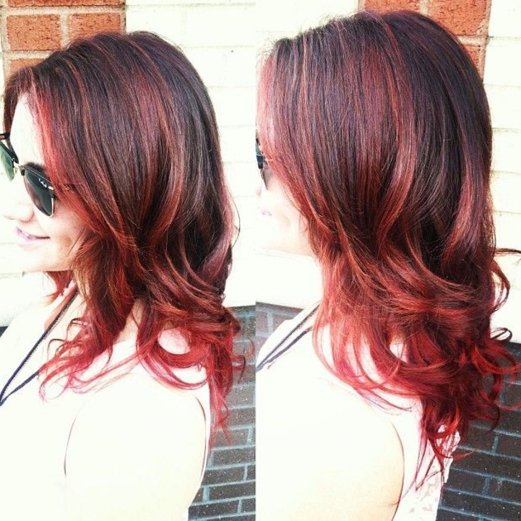 medium+length+reddish+brown+hair+styles | Hair Pictures ...
