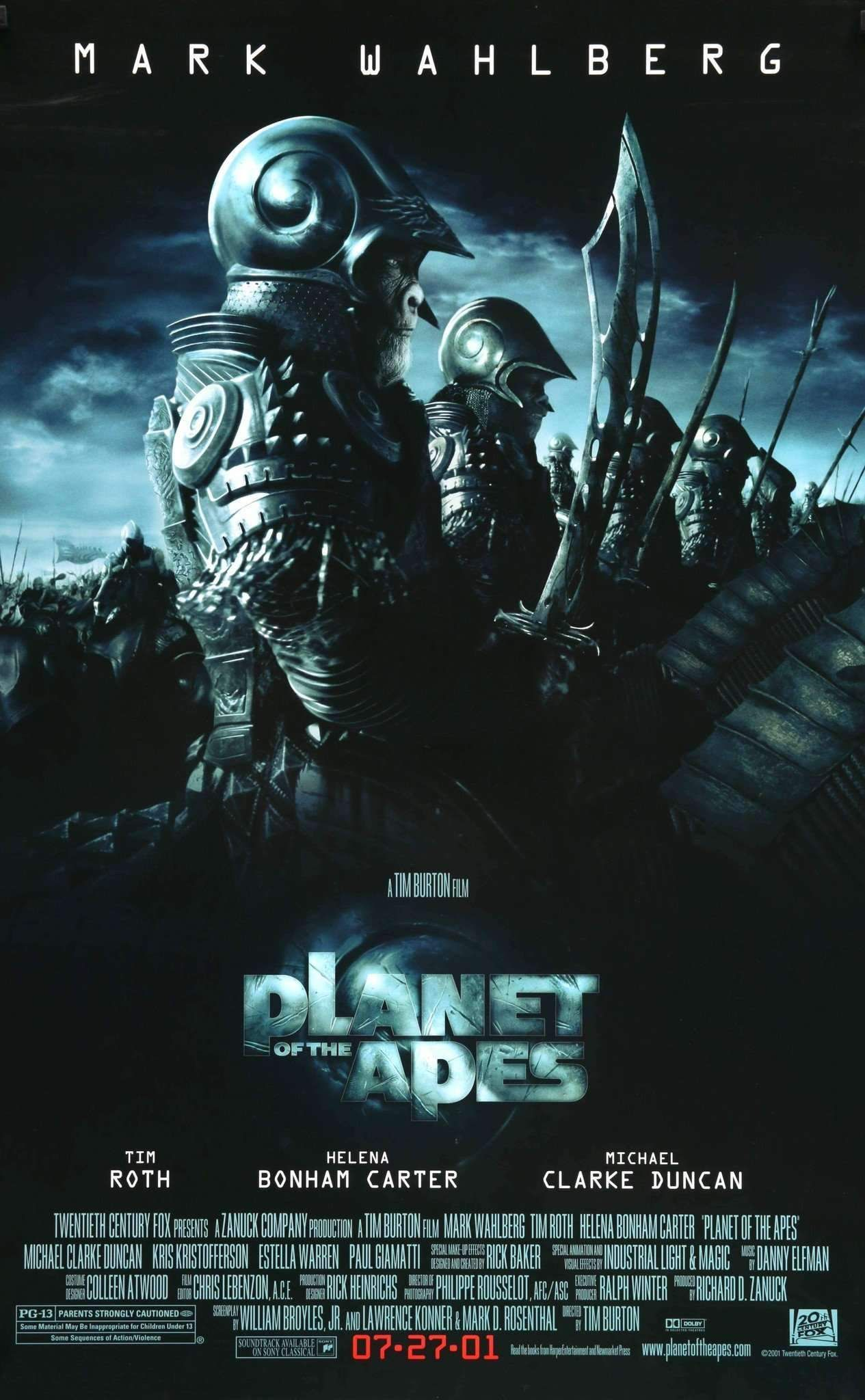 Planet of the Apes (2001) | Planet of the apes, Streaming movies ...