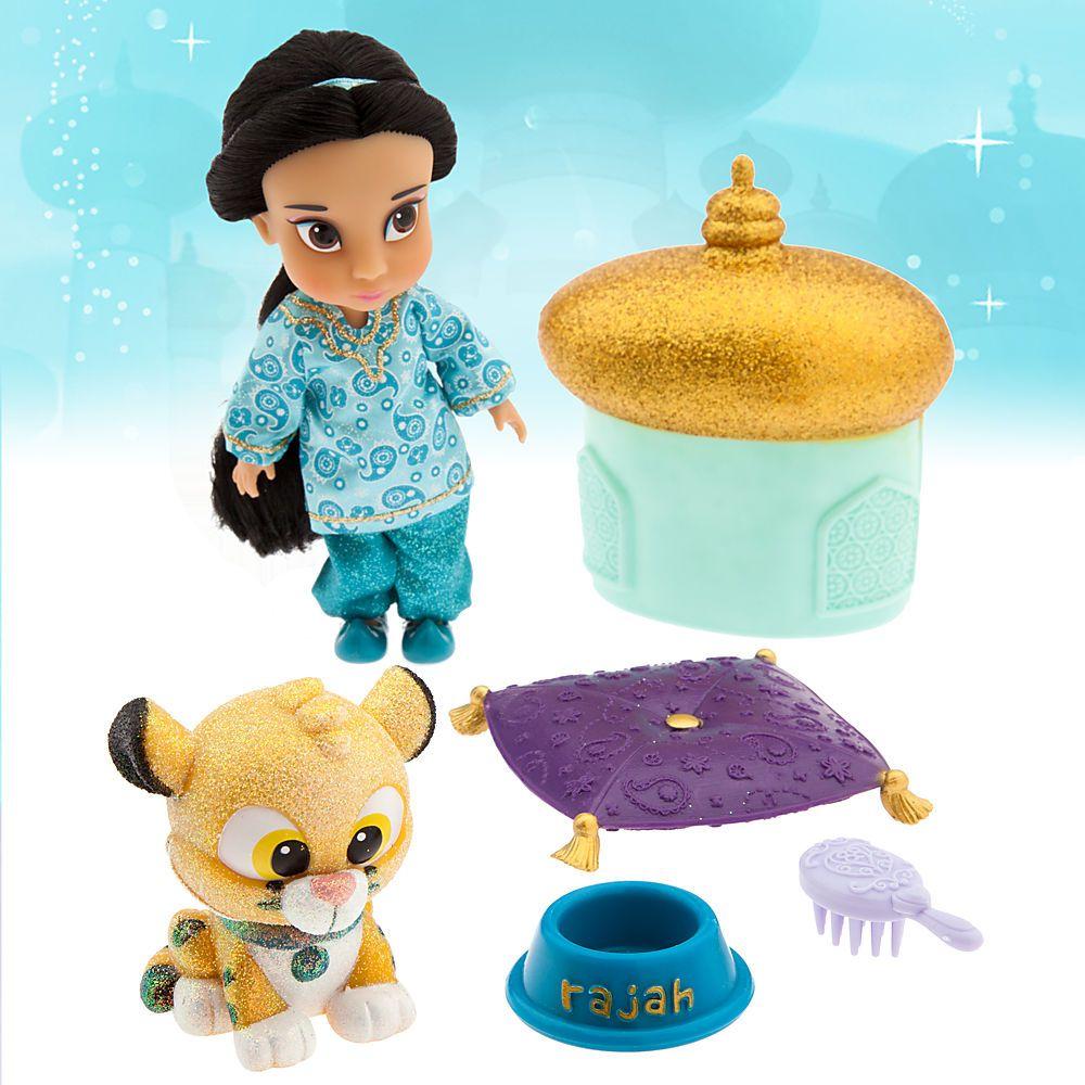 Disney Animators Collection Jasmine Mini Doll Play Set New Disney 5