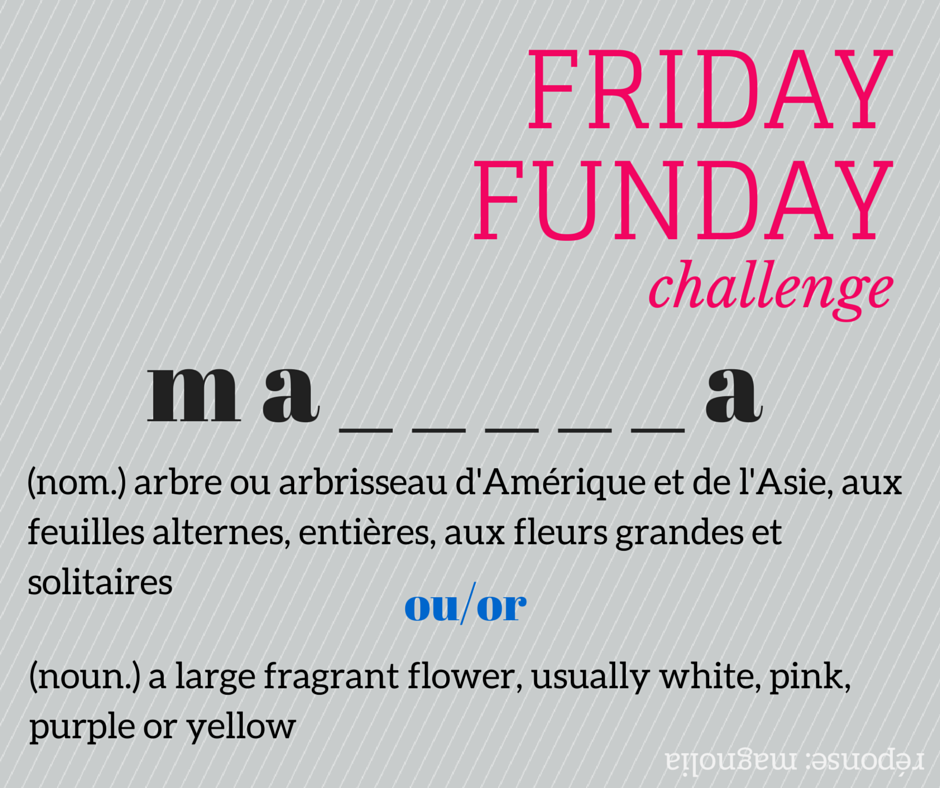 Friday Funday Challenge #fridayfunday