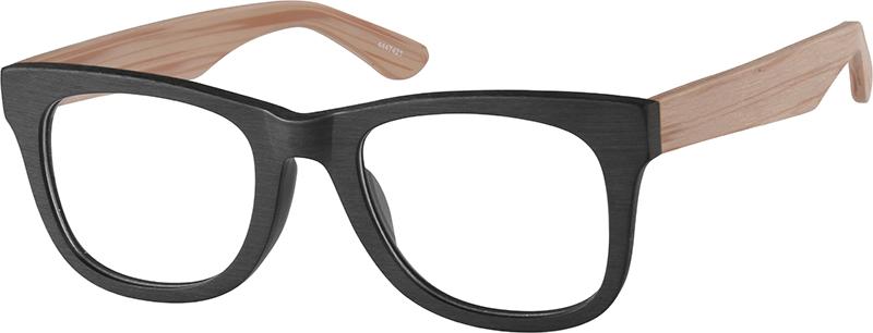 Black Square Glasses 4447421 Zenni Optical Eyeglasses Square Glasses Glasses Eyeglasses