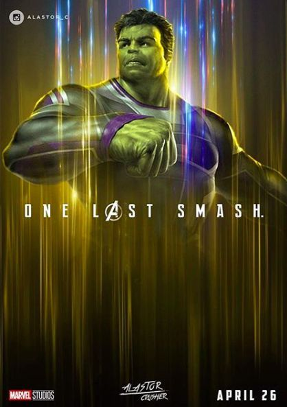 Avengers Endgame Hulk Fan Poster The Culmination Of 22 Interconnected Films The Fourth Installment Of The Aven Marvel Wallpapers Vengadores Marvel Marvel