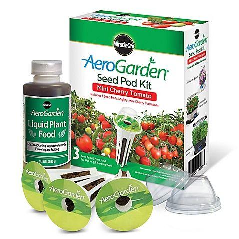 The Aerogarden Heirloom Cherry Tomato Seed Pod Kit Lets 400 x 300