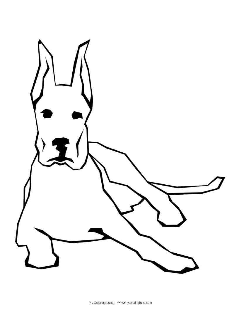 Dog Coloring Pages Find creative coloring pages at TheColoringBarn ...