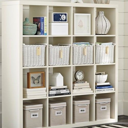 Genius Idea Ikea Expedit Shelves With Baskets For Storage: New IKEA Expedit Room Divider Shelving Unit Bookcase