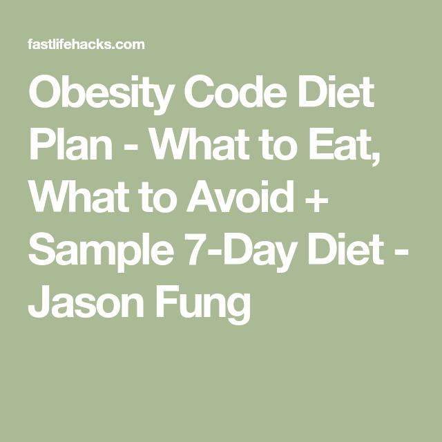 Photo of Adipositas-Code-Diät-Plan – Was zu essen, was zu vermeiden + Probe 7-Tage-Diät – Jason …