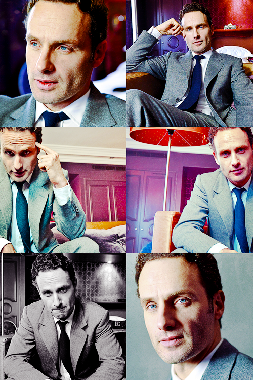So Much Andrew Lincoln Jawbone In This Photo With Images Andrew Lincoln Andy Lincoln Cute Guys