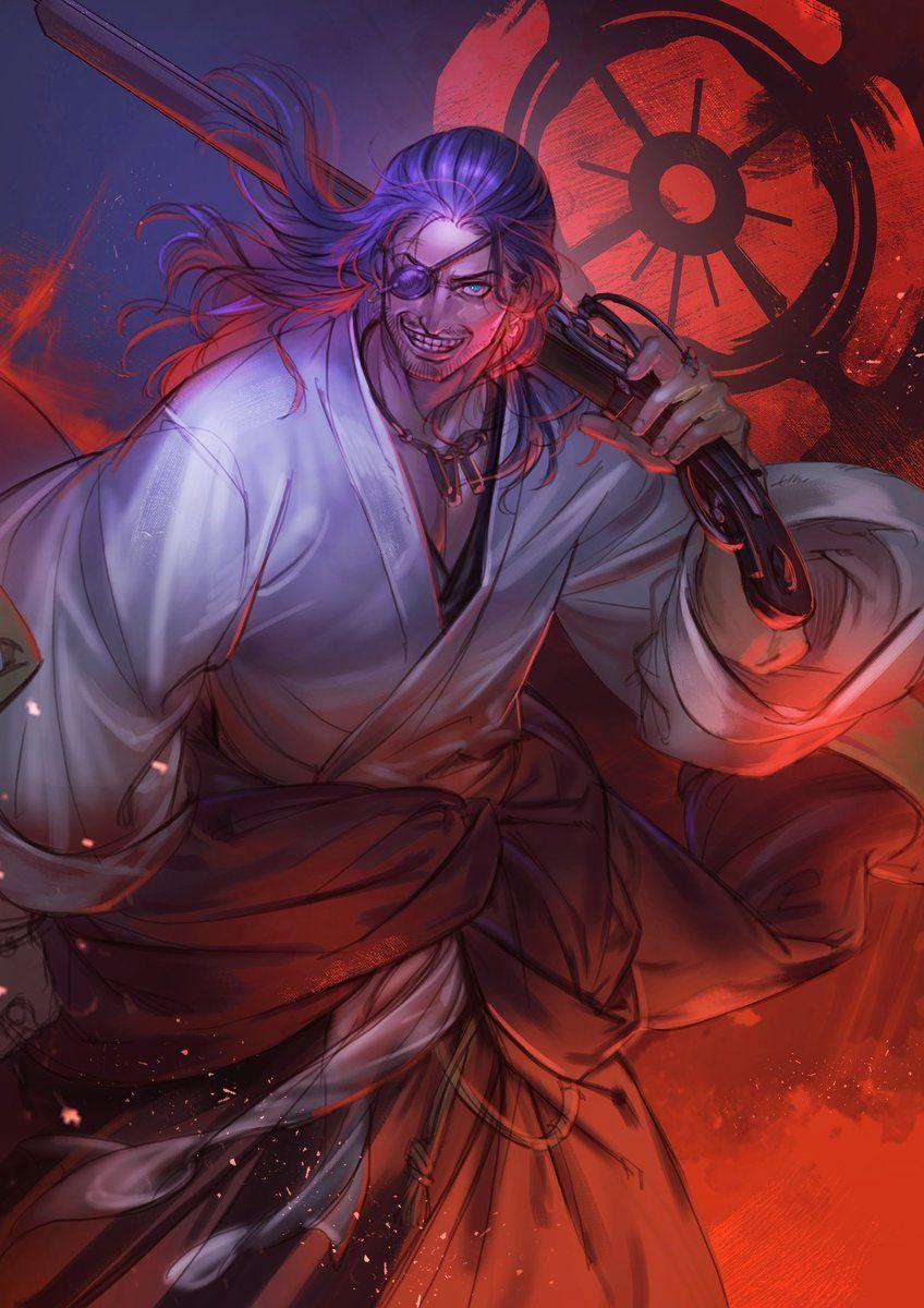 Oda Nobunaga Anime Samurai Artwork Anime Fantasy