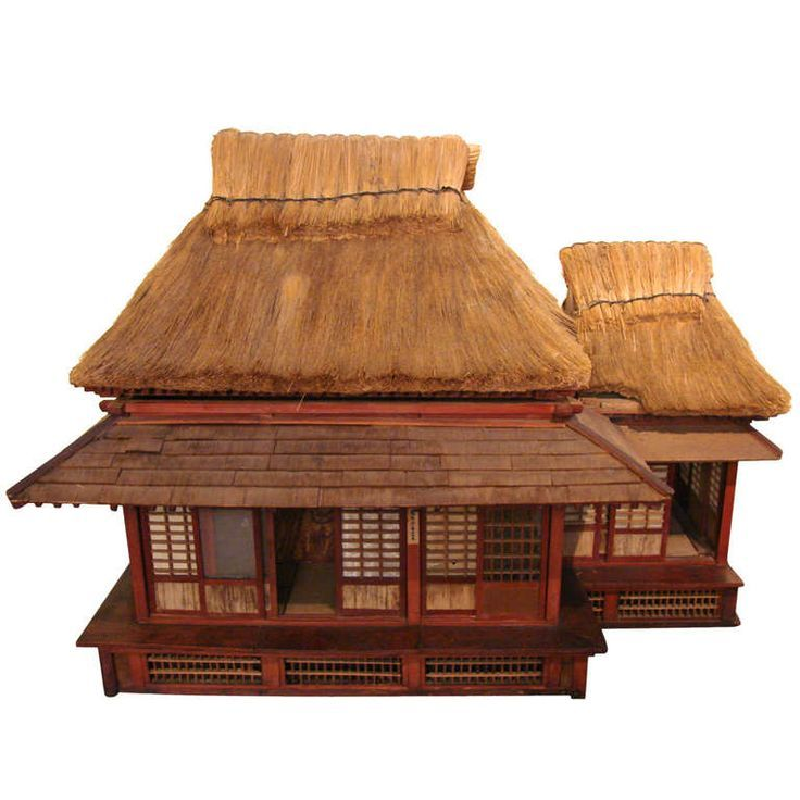 Extraordinary And Unique Model Of A Japanese Tea House Japanese Tea House Tea House Japanese Style House