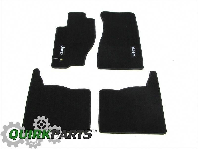 This Oem Factory New Set Of Four Slate Gray Carpet Floor Mats Is A