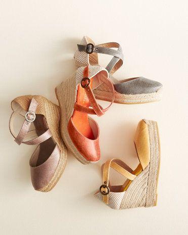 d22c9333ca2 Bettye Muller Katy Bis Espadrille Sandals - Garnet Hill | on my feet ...