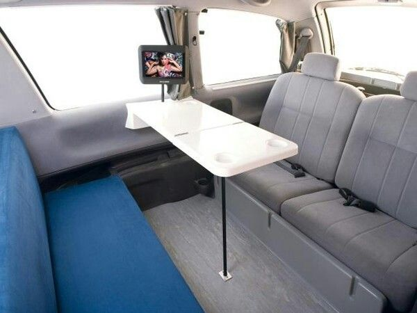The Juicy Rv Is Based On A Chrysler Town Country Credit Jucy