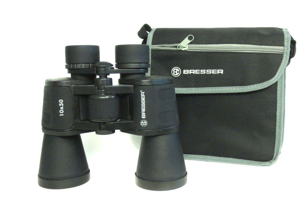 Bresser prismáticos travel 10x50
