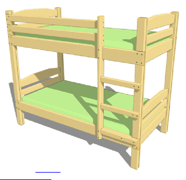 Gut Cama Litera (Bunk Bed Plans)