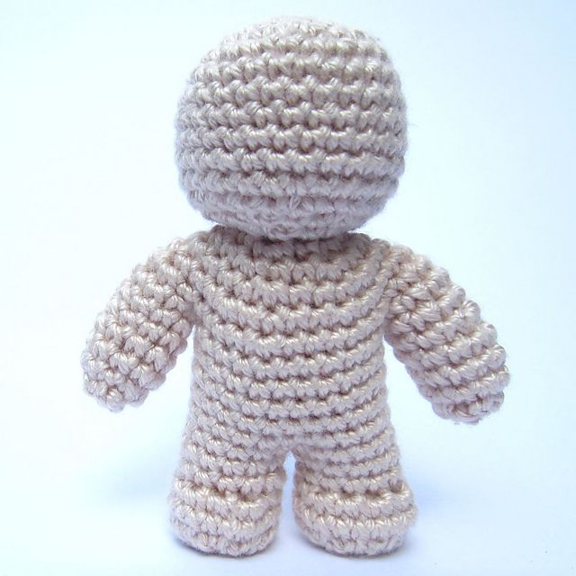 Ravelry: One Piece Crochet Doll pattern by Jonas Matthies | Ami 6 ...