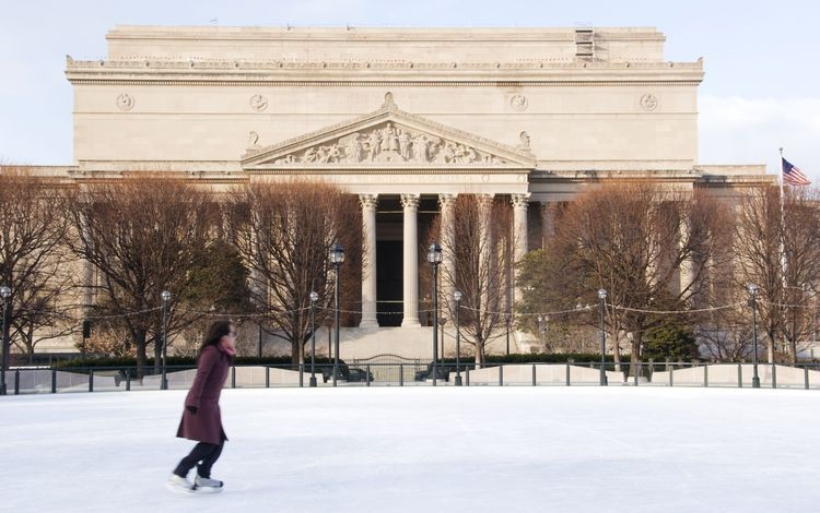 7 outdoor ice skating rinks in the washington dc area