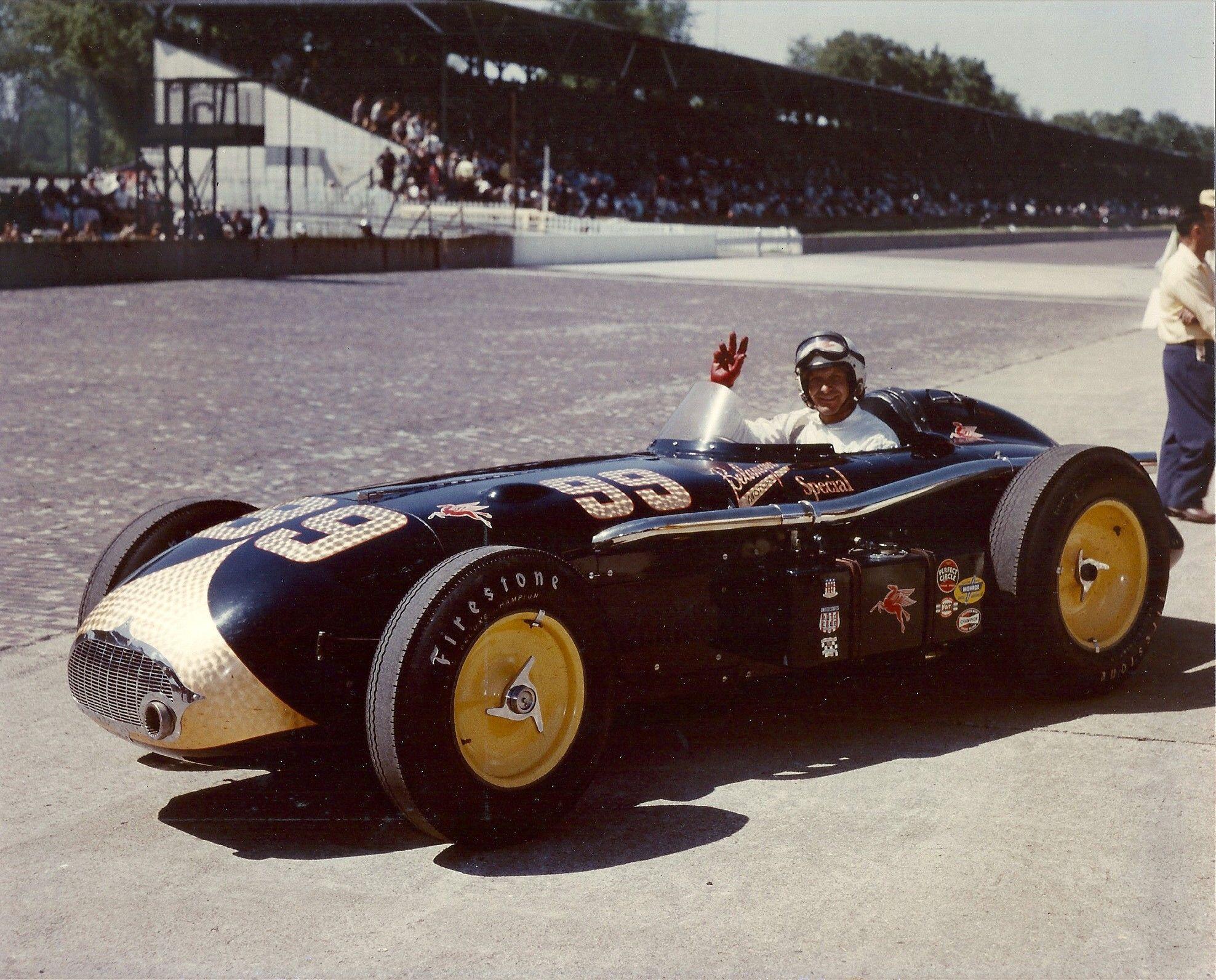 Tony Benttenhausen 1956