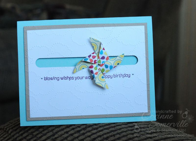 Stamping with Roxy: Blows me away..... :) - slider card