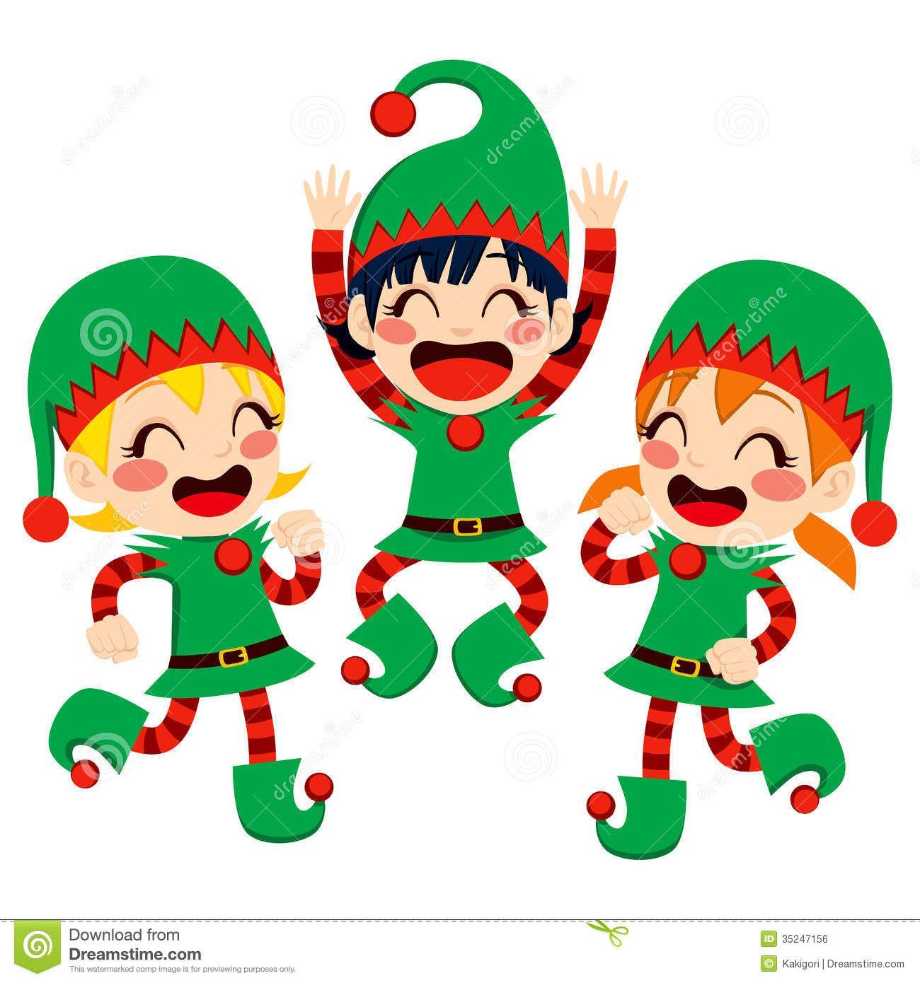 742682ba1e60371439dbfbd77f000482 santa claus helpers dancing rh pinterest com Christmas Joy Clip Art Christmas Count Down Calendar