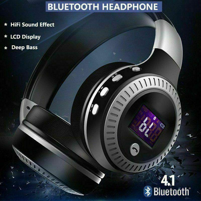 Zoomed Image Bluetooth Headphones Wireless Bluetooth Headphones Wireless Headset