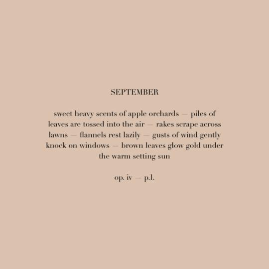 Best Hello September Sayings